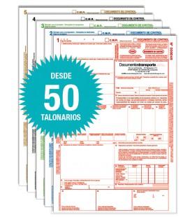 Talonarios CMR autocopiativos - Personalizados