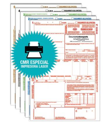 Impresos CMR Personalizado para impresora Laser