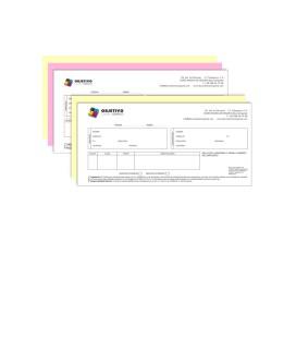 Talonario Personalizado (10x21cm)