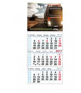 Calendarios Internacionales de pared personalizados