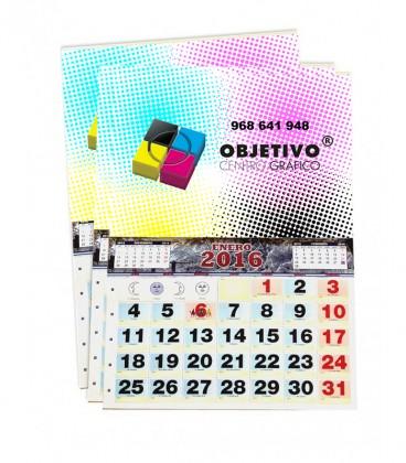 Calendarios de pared personalizados