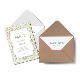 Tarjetas, invitaciones y tarjetones
